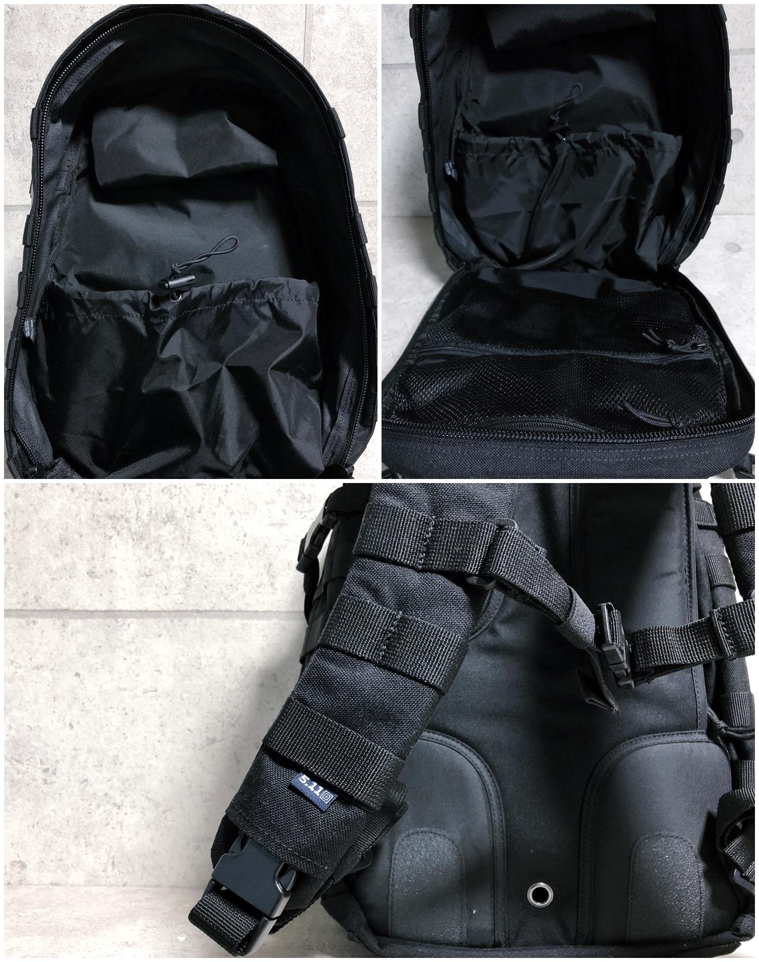 10 実物 511 Tactical RUSH 12 BACKPACK CUSTOM!! ライフルケース・ストラップシステム・ポーチ・ワッペン・ITW TAC LINKなど!! ファイブイレブン タクティカル ラッシュ バックパック カスタム!! 購入 取付 レビュ