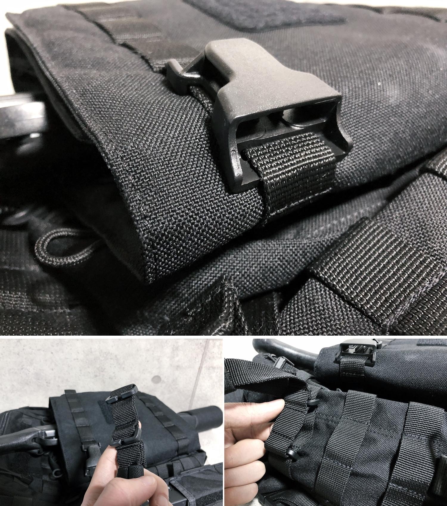 21 実物 511 Tactical RUSH 12 BACKPACK CUSTOM!! ライフルケース・ストラップシステム・ポーチ・ワッペン・ITW TAC LINKなど!! ファイブイレブン タクティカル ラッシュ バックパック カスタム!! 購入 取付 レビュ
