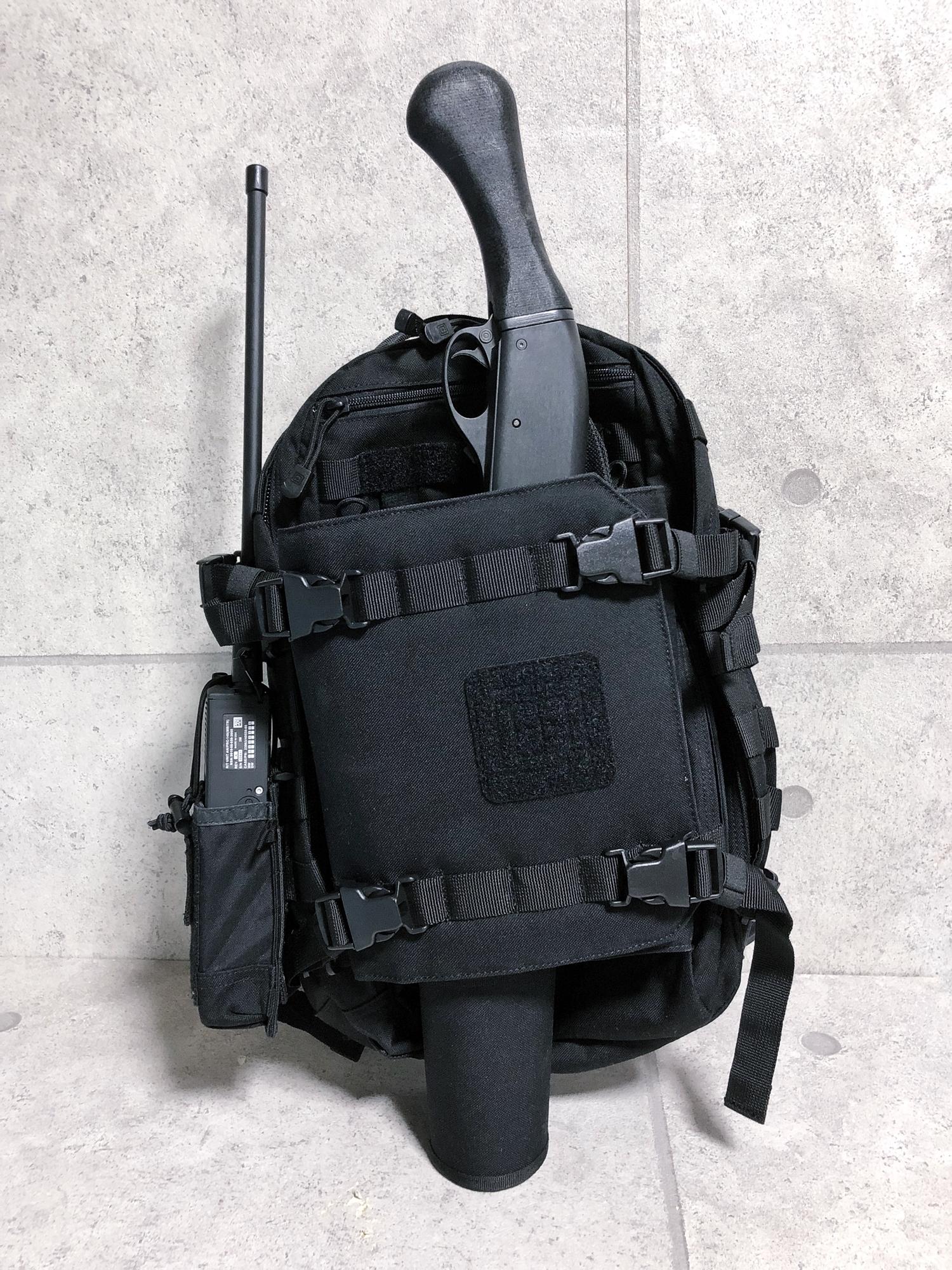 22 実物 511 Tactical RUSH 12 BACKPACK CUSTOM!! ライフルケース・ストラップシステム・ポーチ・ワッペン・ITW TAC LINKなど!! ファイブイレブン タクティカル ラッシュ バックパック カスタム!! 購入 取付 レビュ