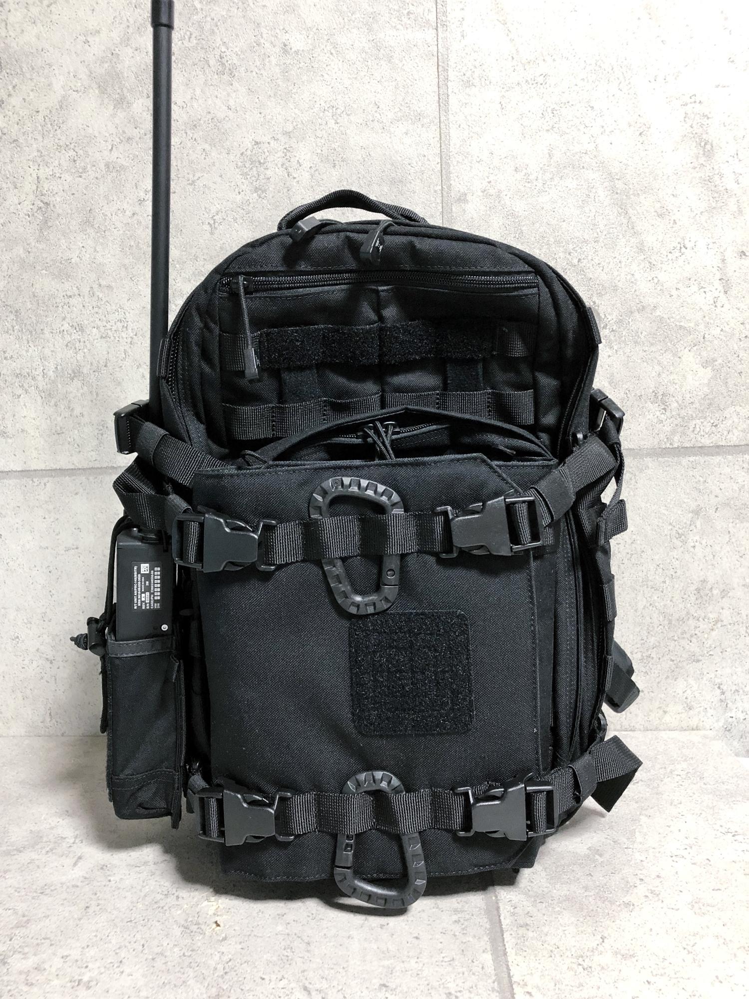 25 実物 511 Tactical RUSH 12 BACKPACK CUSTOM!! ライフルケース・ストラップシステム・ポーチ・ワッペン・ITW TAC LINKなど!! ファイブイレブン タクティカル ラッシュ バックパック カスタム!! 購入 取付 レビュ
