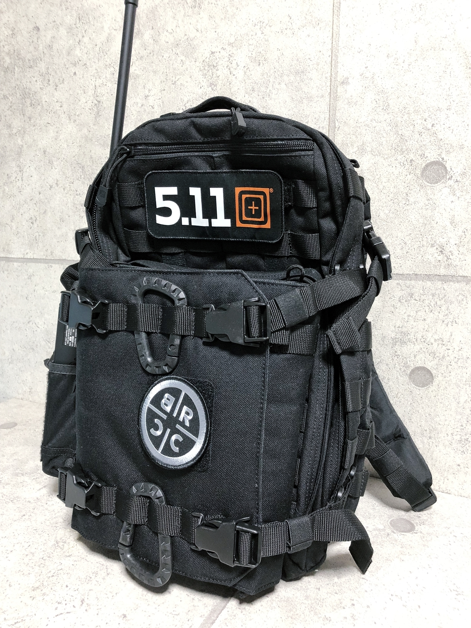 27 実物 511 Tactical RUSH 12 BACKPACK CUSTOM!! ライフルケース・ストラップシステム・ポーチ・ワッペン・ITW TAC LINKなど!! ファイブイレブン タクティカル ラッシュ バックパック カスタム!! 購入 取付 レビュ