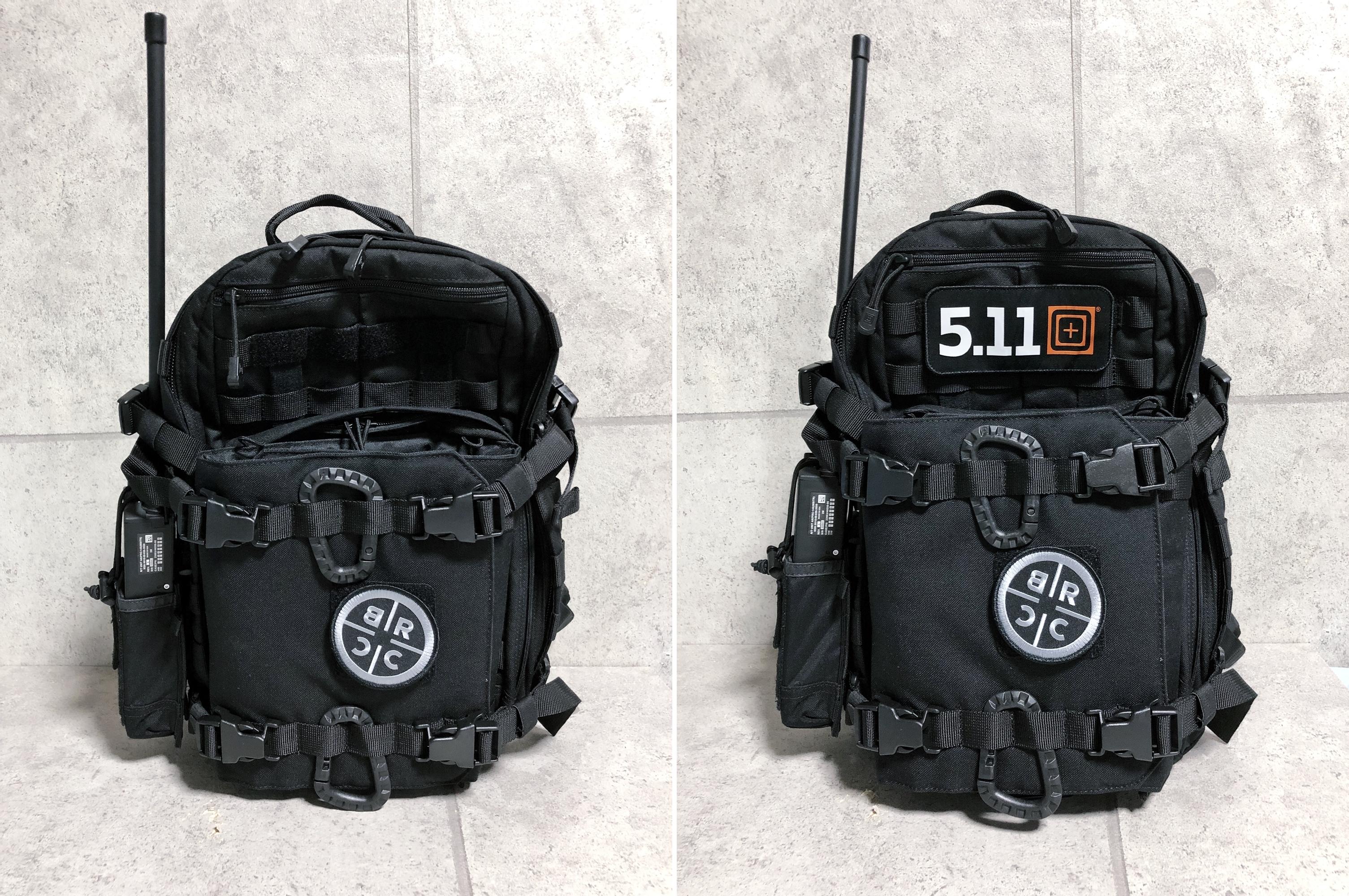 26 実物 511 Tactical RUSH 12 BACKPACK CUSTOM!! ライフルケース・ストラップシステム・ポーチ・ワッペン・ITW TAC LINKなど!! ファイブイレブン タクティカル ラッシュ バックパック カスタム!! 購入 取付 レビュ
