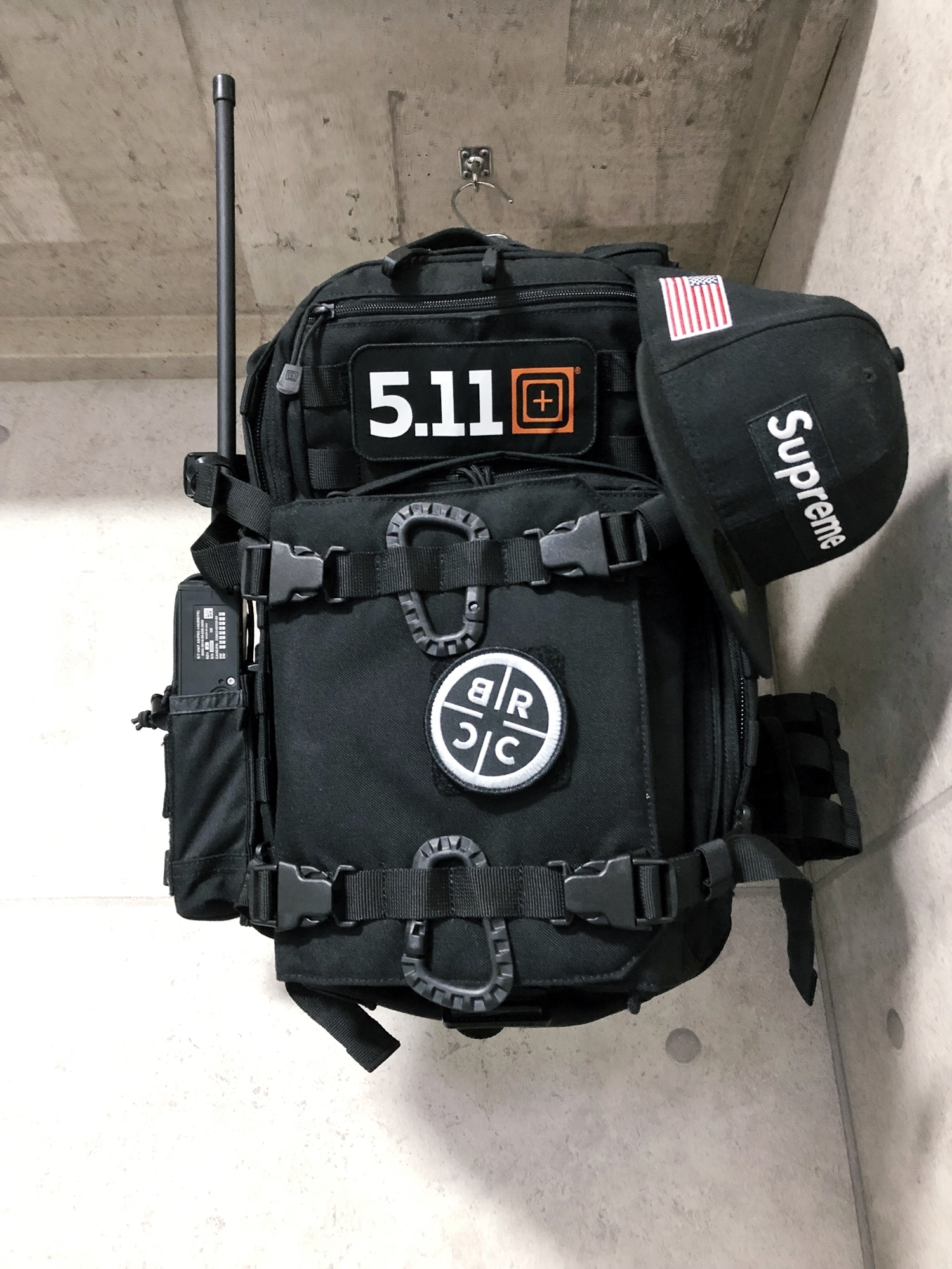 30 実物 511 Tactical RUSH 12 BACKPACK CUSTOM!! ライフルケース・ストラップシステム・ポーチ・ワッペン・ITW TAC LINKなど!! ファイブイレブン タクティカル ラッシュ バックパック カスタム!! 購入 取付 レビュ