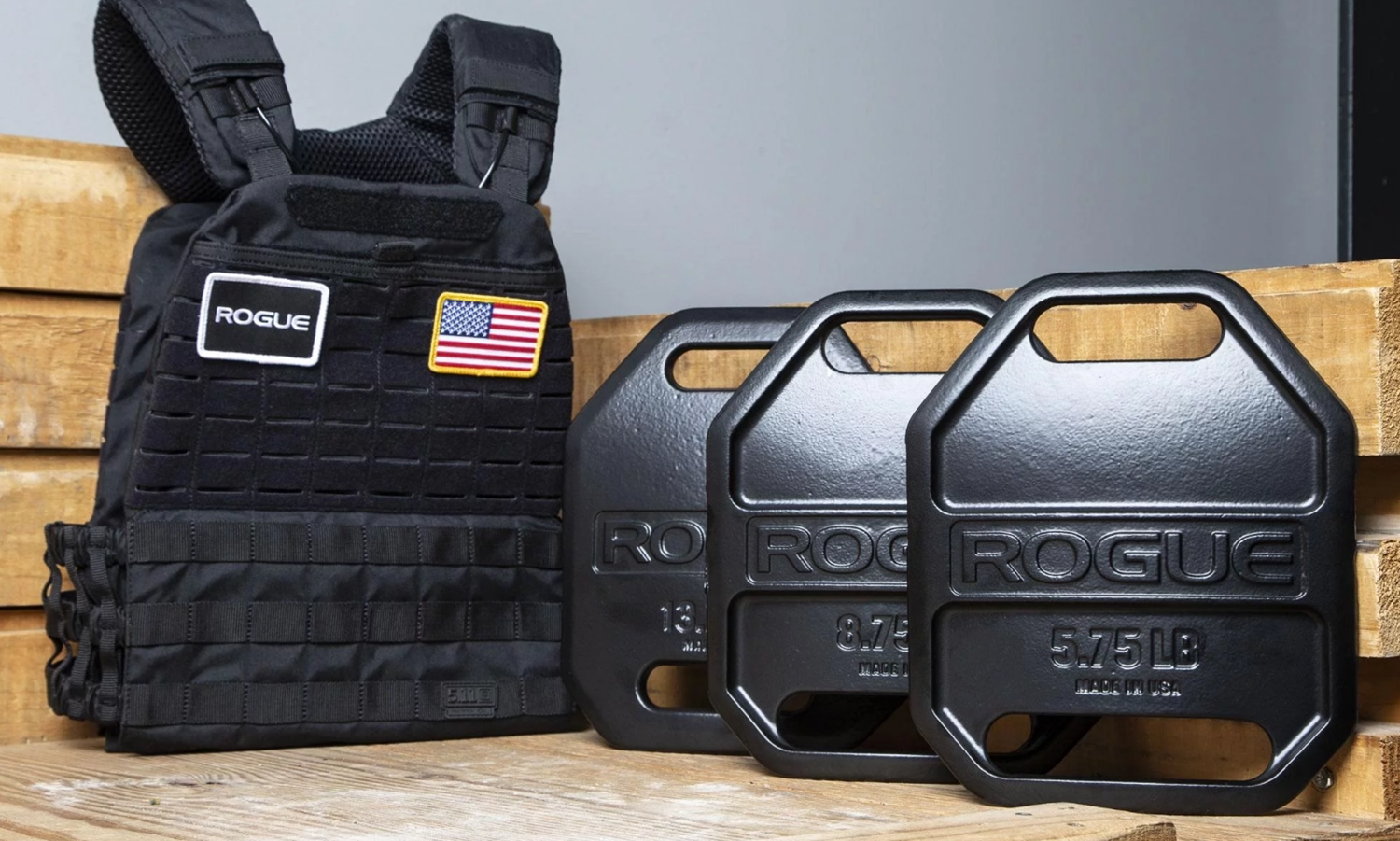 ROGUE USA CAST WEIGHT PLATES 実物 511TACTICALCROSSFITEDITION PLATE CARRIER! ファイブイレブン クロスフィット エディション プレートキャリア