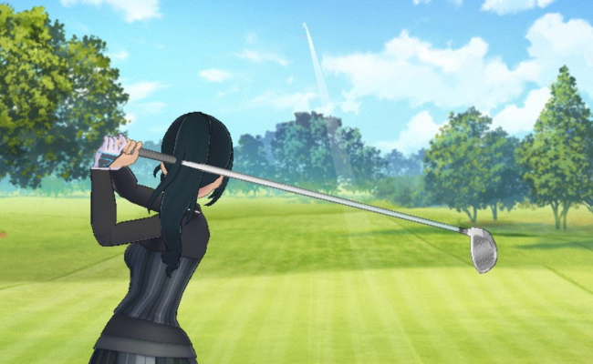 イベントのゴルフ