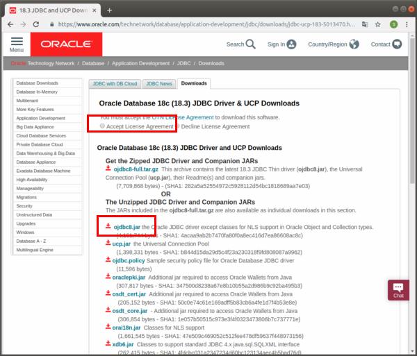 Oracle 18c XEへJava(JDBC)で接続 - Symfoware