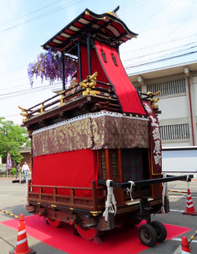 上鍋屋町の山車4