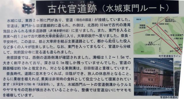 太宰府市の官道跡2