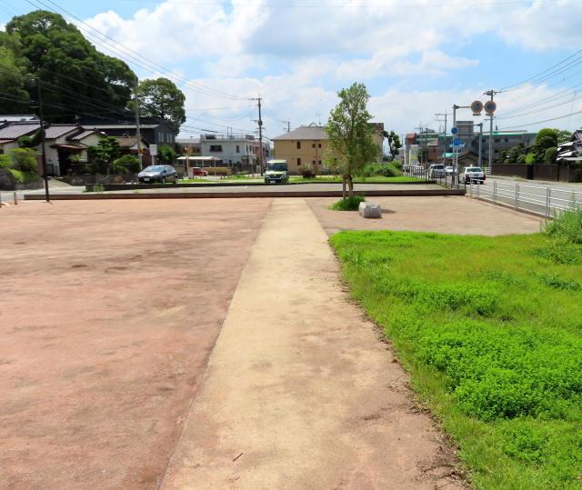 太宰府市の官道跡1