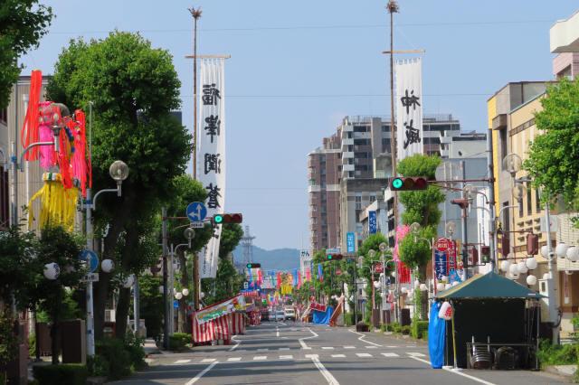 桐生祭・大旗1