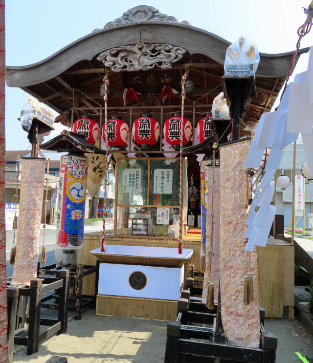桐生祭・御旅所6