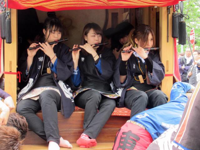 神明車(岩滑新田)5