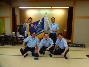 優勝のチーム田上