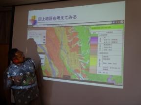 地震による田上地区の被害