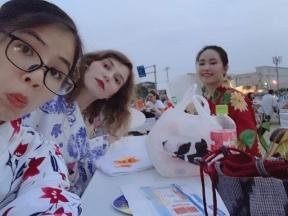 日研生の花火大会