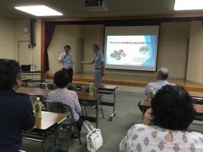 清水先生の講演