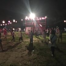 旭町の盆踊り