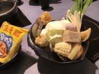 野菜盛りと王子麺190426