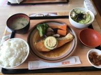香煎鮭魚排(サーモン御膳~しょうがソース)190510