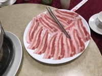 白肉(豚バラ肉)190511