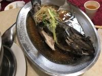 蒸し石班魚190511