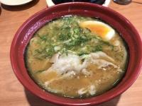 くら寿司で魚介味噌ラーメン190523