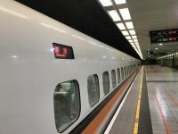 1人新幹線で帰る190529