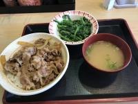 牛丼セット190605