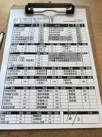 強棒亭メニュー190609