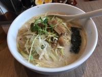 赤坂ラーメンの香葱拉麺(ネギラーメン)190618