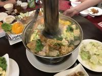 炭焼東北酸菜白肉鍋190706