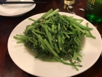 空心菜炒め190708