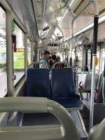 バスで帰ったら樂だった190714