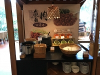 セルフ担仔麺コーナー190725