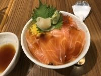 サーモンイクラ丼190820