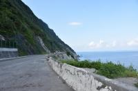 清水断崖の休憩エリア190726