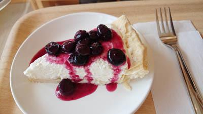 ブルーベリーレアチーズ