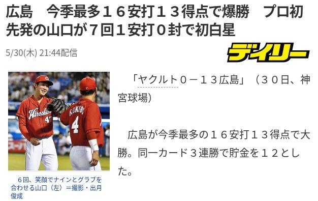20190530S戦大勝山口初勝利