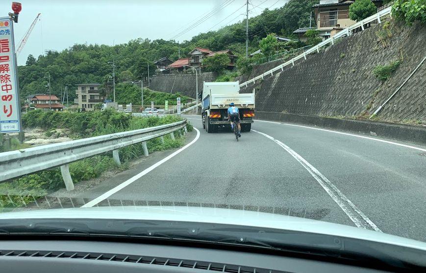 危険ロードバイク