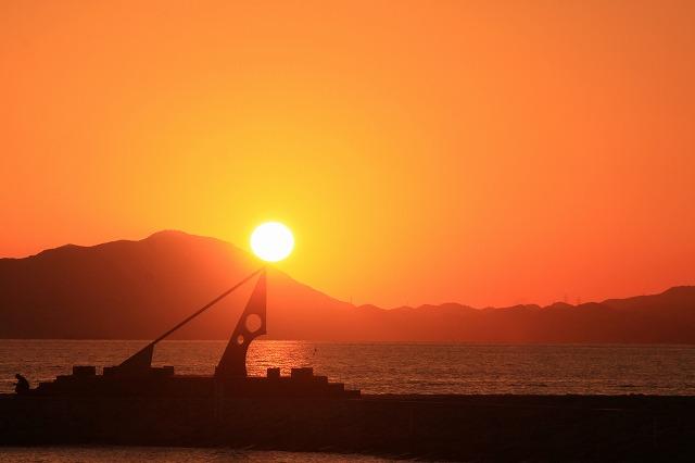 s-焼野海岸(日時計)