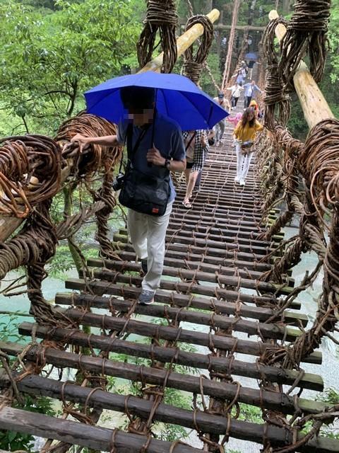 s祖谷のかずら橋 (1)