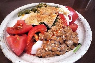 今朝の健康食