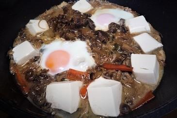豆腐すき焼き