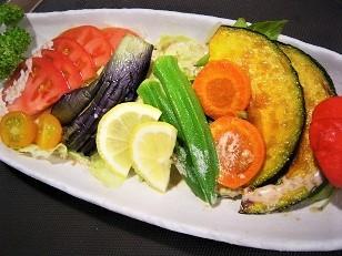 夏野菜五種盛りサラダ3
