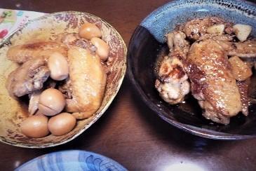 鶏手羽と手羽元二種