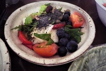 ブルーベリーサラダ