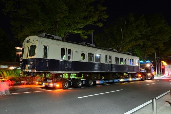 2018年8月15日 上田電鉄別所線 7200系7255編成陸送