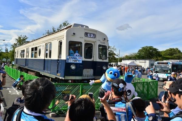 2018年8月15日 上田電鉄別所線 7200系7255編成展示