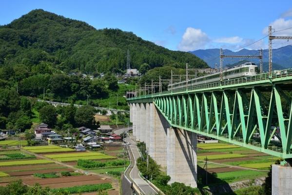 2018年8月25日 JR東日本中央本線 鳥沢~猿橋 189系N102編成
