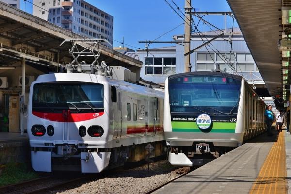 2018年8月25日 JR東日本横浜線 東神奈川 E491系+マヤ50-5001/E233系H001編成